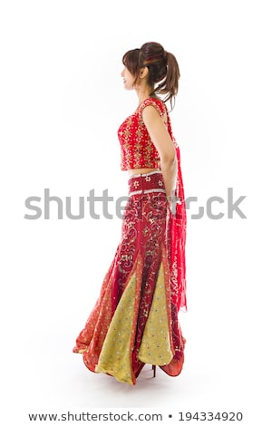 Side profile of an Indian young woman day dreaming Stock photo © bmonteny