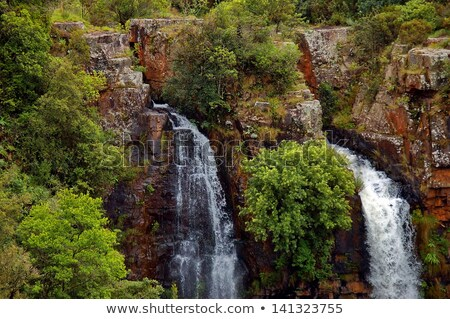 Upper part of Mac Mac waterfall Stock photo © intsys