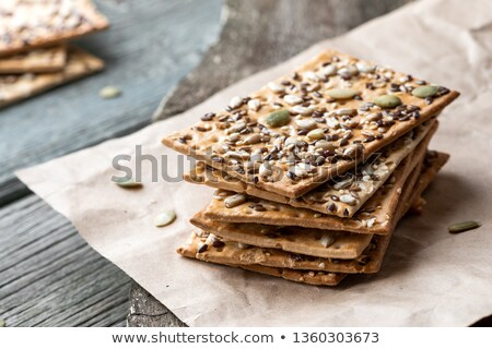 cereal cracker and crispy bread Stock photo © M-studio