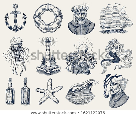 nautical elements Stock photo © kovacevic