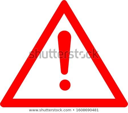 Absztrakt figyelmeztető jel háttér fém ipar ipari Stock fotó © italianphoto