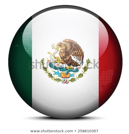 Stock fotó: Térkép · mexikói · pont · minta · vektor · kép