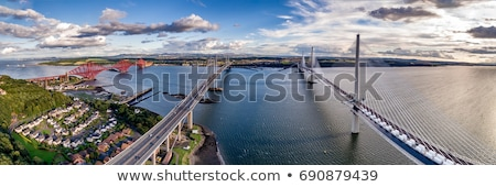 Forth Rail Bridge from South Queensferry, Scotland Stock photo © saralarys