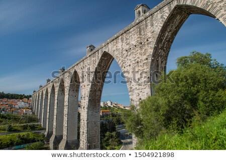 リスボン · 修道院 · 市 · ポルトガル · 家 - ストックフォト © artfotoss