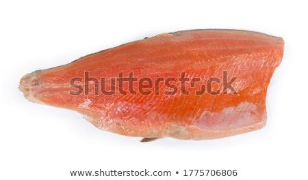 salmon carcass Stock photo © saharosa