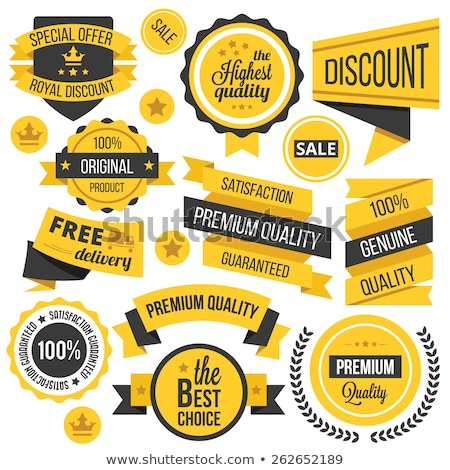 Stock photo: Free Delivery Yellow Vector Icon Button