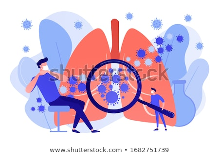 Cough Diagnosis. Medical Concept. Stock photo © tashatuvango