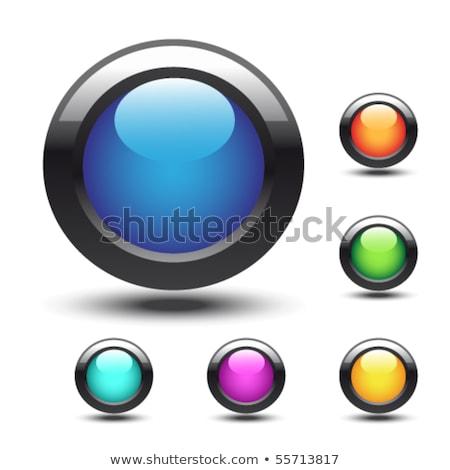 ショッピング ベクトル 青 ウェブのアイコン ボタン ストックフォト © rizwanali3d