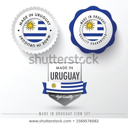 ウルグアイ 国 フラグ 地図 文字 ストックフォト © tony4urban