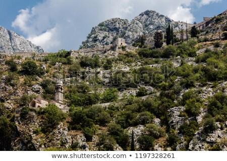 Stad unesco erfgoed Montenegro hemel gebouw Stockfoto © vlad_star