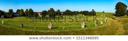 Stone circle in Avebury. Great Britain Stock photo © CaptureLight