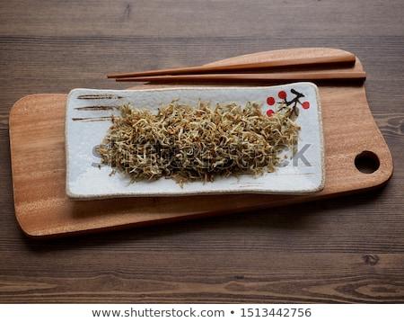 Photo stock: Frit · plaque · poissons · citron · malaga · alimentaire