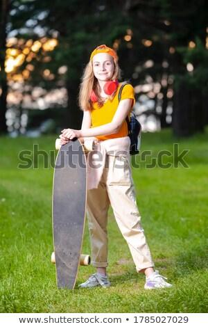 Longboarding Lifestyle Shoot Stock photo © arenacreative