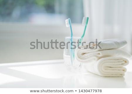 Cepillo de dientes salud dentales oral atención diente Foto stock © Lightsource