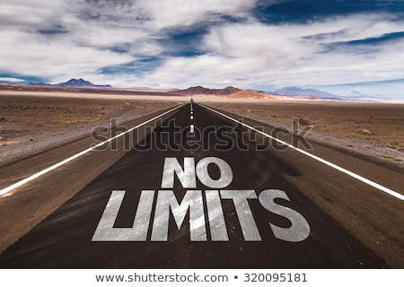 No limit sign on highway Stock photo © stevanovicigor