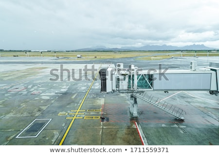 Airport jetway Stock photo © simply