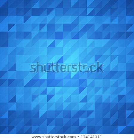 Abstract blu ondulato corporate vettore design Foto d'archivio © saicle
