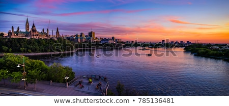 The Buildings and Skyline of Ottawa Ontario stock photo © chrisukphoto