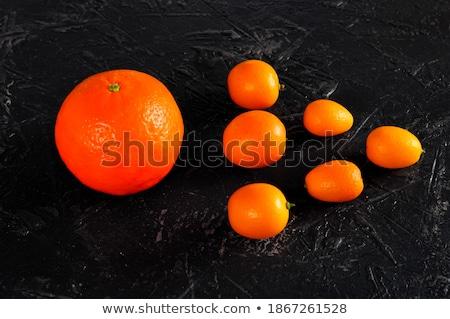 Kevés izolált fehér étel narancs friss Stock fotó © digitalr