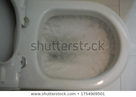 Víz edény otthon fürdőszoba életstílus modern Stock fotó © wavebreak_media
