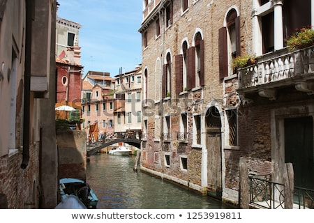grand canal in venice italy exquisite buildings along canals stock photo © virgin