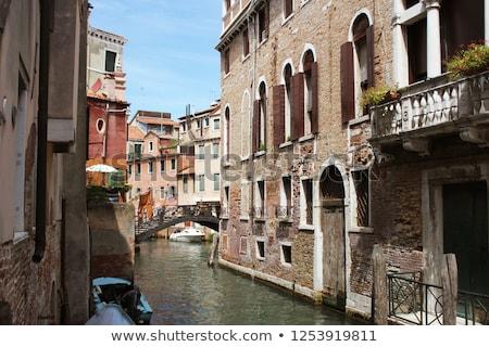 канал Венеция Италия изысканный зданий антикварная Сток-фото © Virgin