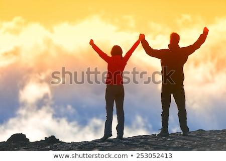 Gelukkig winnaar leven doel succes man Stockfoto © blasbike