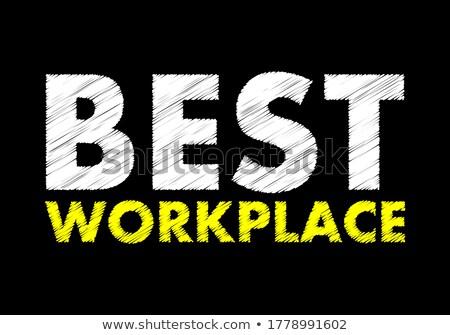 best management on chalkboard in the office stock photo © tashatuvango