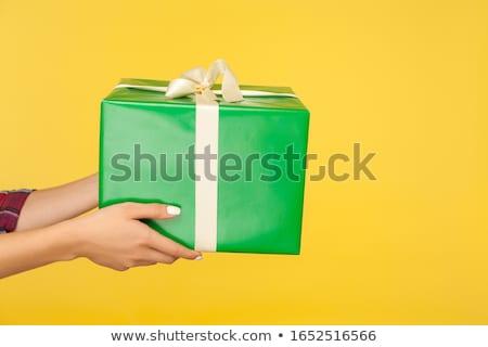 Stockfoto: Shot · vrouwelijke · handen · groot