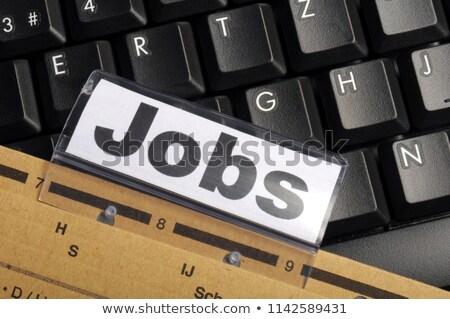 gevşek · iş · kayıp · çalışmak · işsiz · işçi - stok fotoğraf © tashatuvango