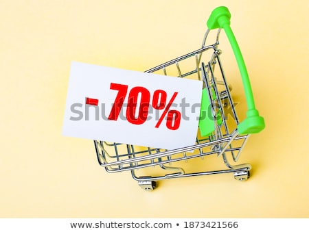 Red minus seventy percent Stock photo © Oakozhan