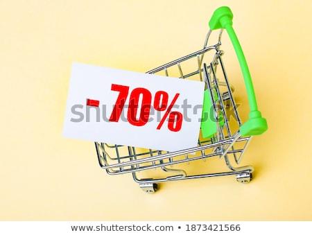 percentage · teken · procent · Rood · witte · label - stockfoto © oakozhan