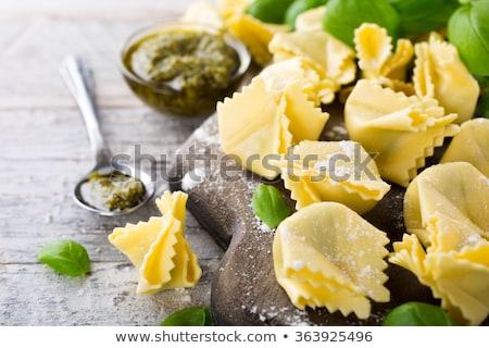 домашний сырой итальянский зеленый Сток-фото © Melnyk