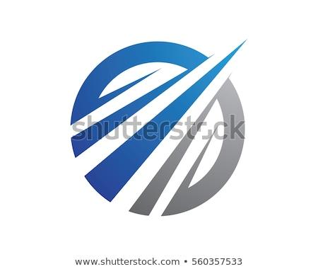 Global escudo logotipo vetor formato corporativo Foto stock © amanmana