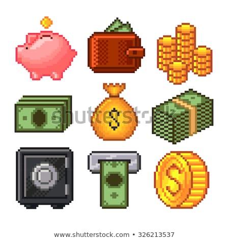 Money Pixel Art Illustration Stock photo © lenm
