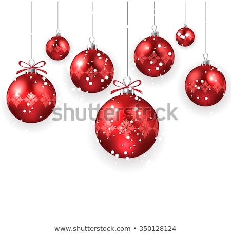 Bella Natale decorazione festival elementi albero Foto d'archivio © SArts