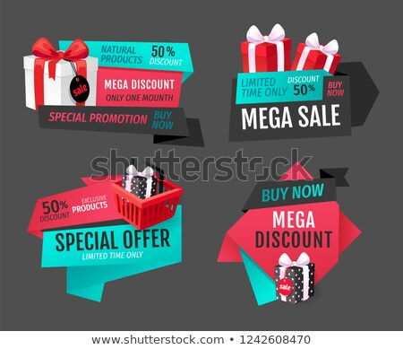 Mega Discounts Super Sale on Exclusive Products Stock photo © robuart