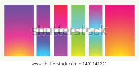 Set of new smartphone templates with colorful gradients Stock photo © SwillSkill