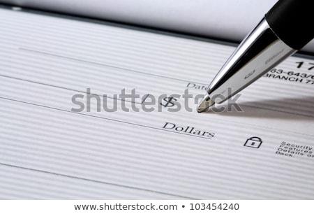 libro · banco · financiar · efectivo - foto stock © hfng