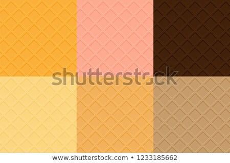 Waffle sem costura vetor textura amarelo Foto stock © yopixart