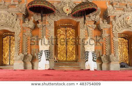Ubud palace, Bali - Inside the Ubud palace, Bali Stock photo © galitskaya