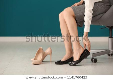 magassarkú · cipő · fájdalom · probléma · fájdalmas · nő - stock fotó © andreypopov
