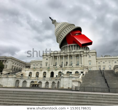mély · amerikai · politika · Egyesült · Államok · politikai · szimbólum - stock fotó © lightsource