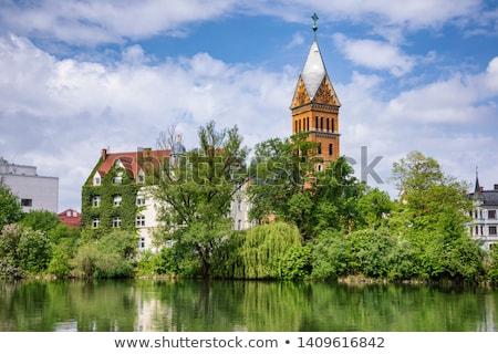 Christ Church, Landshut, Germany Stock photo © borisb17