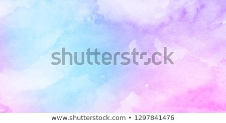 Rosa acquerello macchia texture design Foto d'archivio © SArts