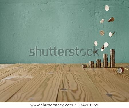 Money on the wood texture  Stock photo © sasilsolutions