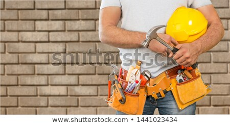 Handyman with a wrench Stock photo © photography33