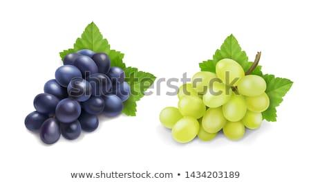 Stock photo: Grape cluster