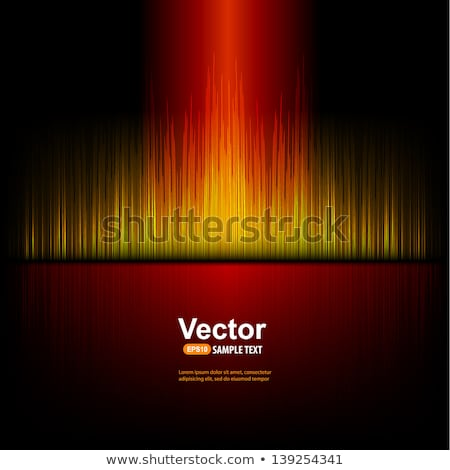 abstract vector shiny design with speakers on waves background stock photo © articular