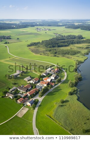 panoramic aerial view Bavaria Stock photo © magann